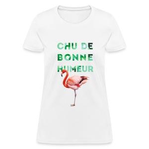 T-shirt pour femme CHU DE BONNE HUMEUR - T-shirt pour femmes