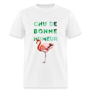 T-shirt  pour homme CHU DE BONNE HUMEUR - T-shirt pour hommes