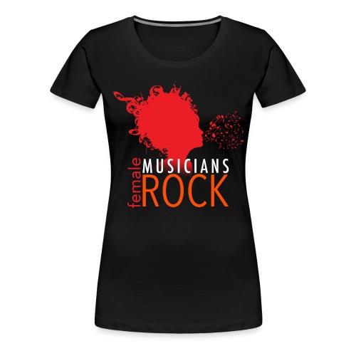 FMR Black01 - Women's Premium T-Shirt