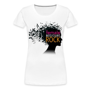 FMR White02 - Women's Premium T-Shirt