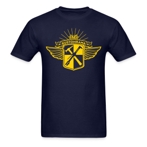 Kustomrama Crest #101 - Men's T-Shirt