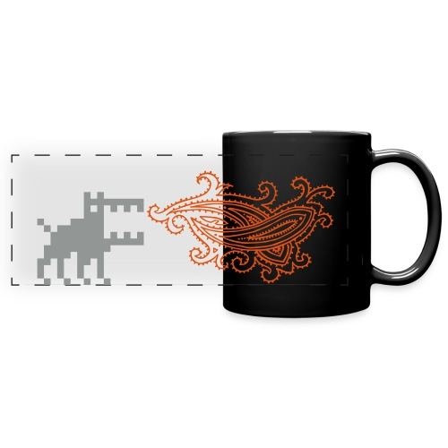 Dottweiler Mug - Full Color Panoramic Mug