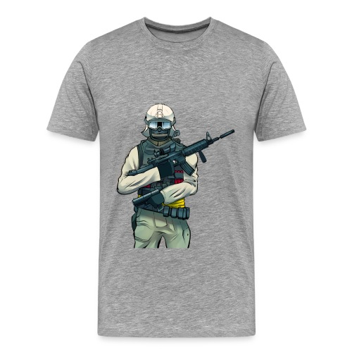 WDF Solider - Men's Premium T-Shirt