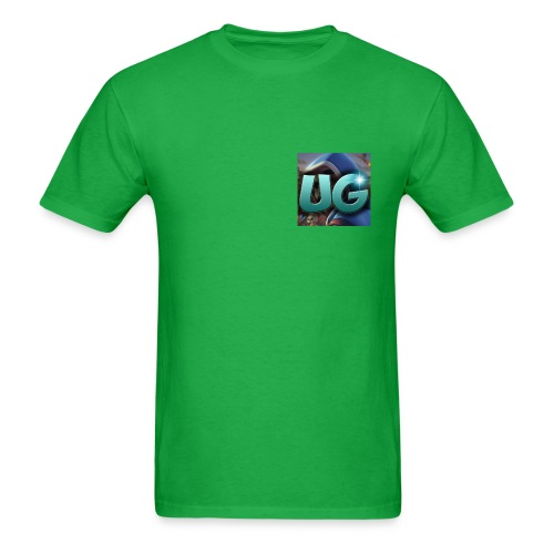 My logo is on the front on the back is my name - Men's T-Shirt