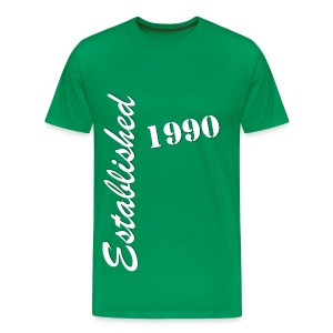 Established 1990 - Men's Premium T-Shirt