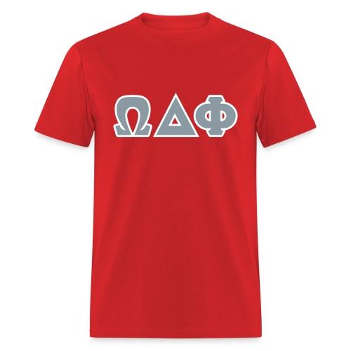 Omega Delta Phi Greek Letters - Men's T-Shirt