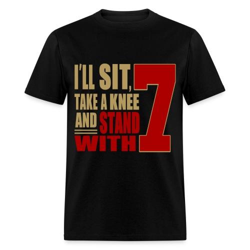 Sit With Kaepernick Tee - Men's T-Shirt
