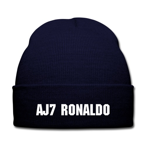 AJ7 Ronaldo  - Knit Cap with Cuff Print