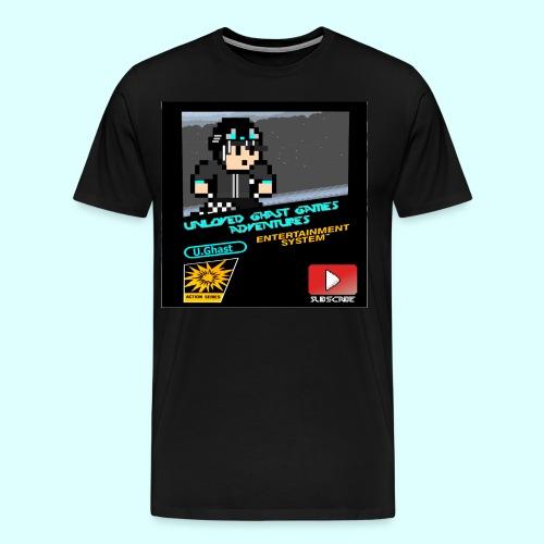 Ghast NES Cover - Men's Premium T-Shirt