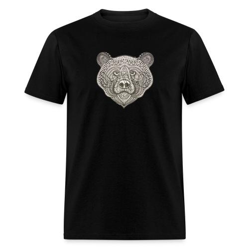 Tribal Bear Big Logo - Men's T-Shirt