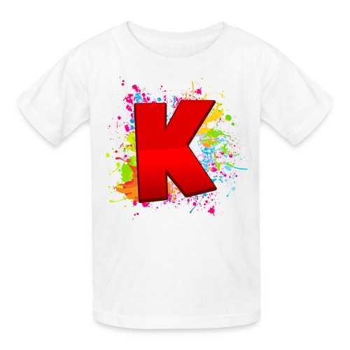 Kryptix Splatter Kid's T-Shirt - Kids' T-Shirt