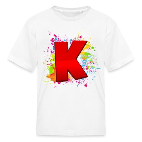 Kryptix Splatter Kid's T-Shirt - Kids' T-Shirt