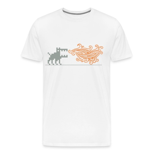 Dottweiler, Gents! - Men's Premium T-Shirt