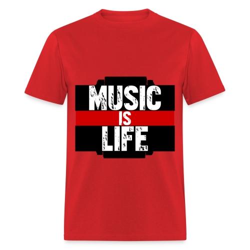 Music Is Life T - Men's T-Shirt