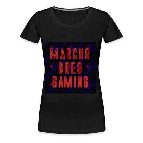 MarcusDoesGaming Premium Women's Tees - Women's Premium T-Shirt