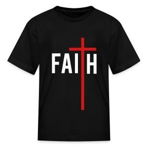 Faith (Kids-Alt) - Kids' T-Shirt