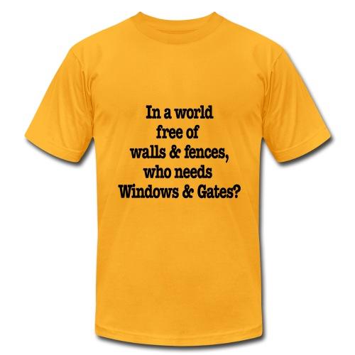Windows & Gates - Men's Fine Jersey T-Shirt