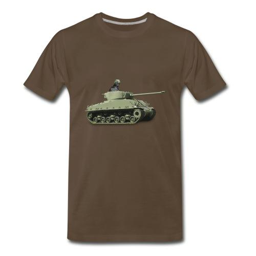 War Pug - Men's Premium T-Shirt
