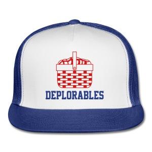 Basket of Deplorables Trucker Hat Royal Blue - Trucker Cap