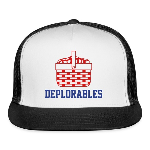 Basket of Deplorables Trucker Hat Royal Blue - Trucker Cap