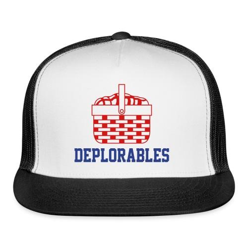 Basket of Deplorables Trucker Hat Navy Blue - Trucker Cap
