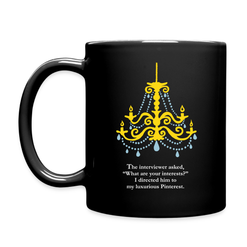 Luxurious Pinterest Mug - Full Color Mug