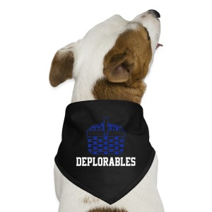 Basket of Deplorables Dog Bandana Red - Dog Bandana
