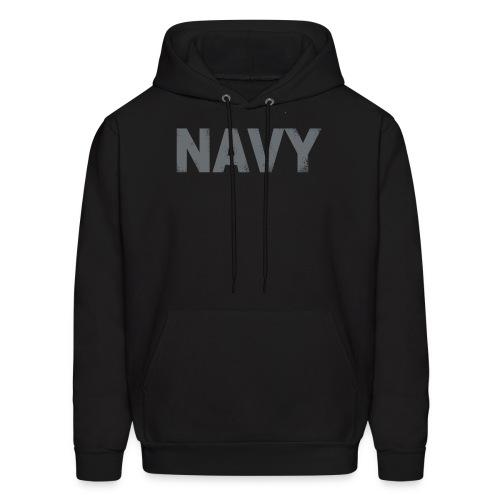 Navy Jacket (Black) - Men's Hoodie