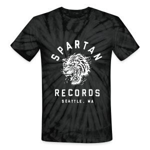 Spartan Wild Tiger Tie Dye T-Shirt - Unisex Tie Dye T-Shirt