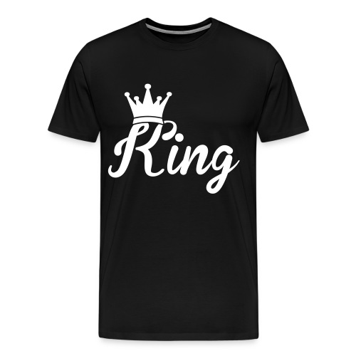 Mens King T-Shrit - Men's Premium T-Shirt