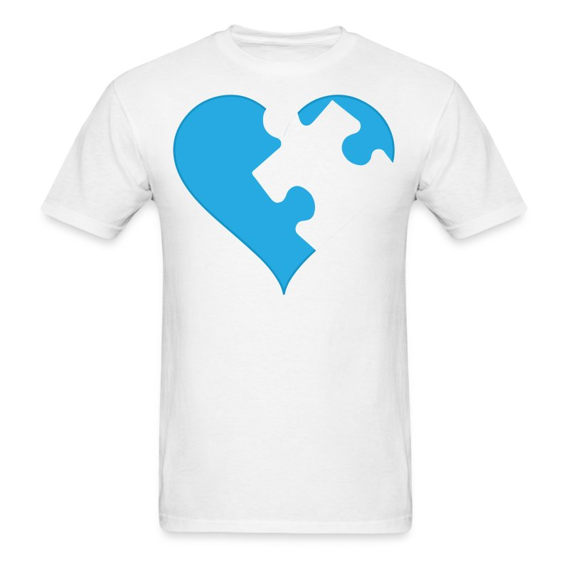 Asd Autism Puzzle Piece Heart T Shirt Spreadshirt