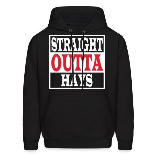 Straight Outta Hays Hoodie - Men's Hoodie