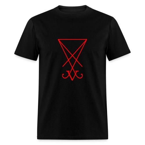 Lucifer in Red - Men's T-Shirt