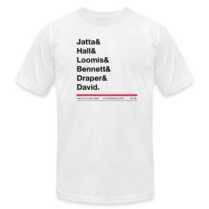 Men's last names tee shirt - American Apparel tee - Men's Fine Jersey T-Shirt