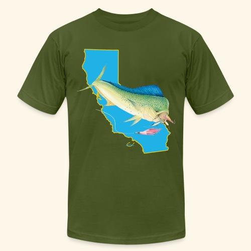 California Dorado Fishing - Men's  Jersey T-Shirt