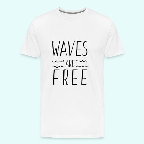 Men's Premium Shirt with Saying  - Men's Premium T-Shirt