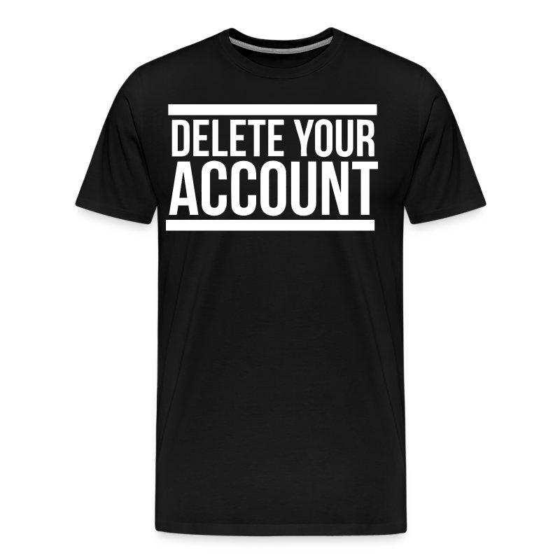 how to delete spredshirt account