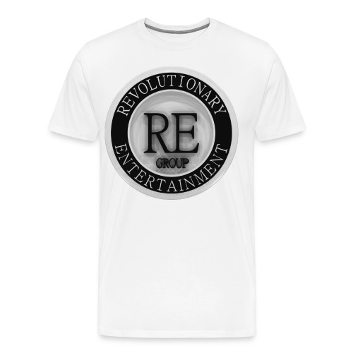 REG White Shirt - Men's Premium T-Shirt