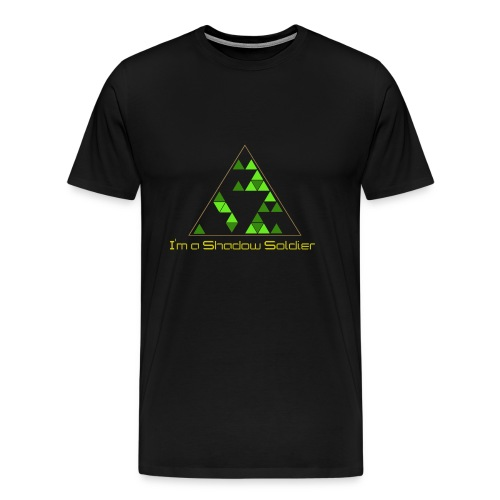 Shadow Soldier T-shirt (Mens) - Men's Premium T-Shirt