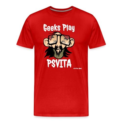 Geeks Play PSVITA Women's T-Shirt - Men's Premium T-Shirt