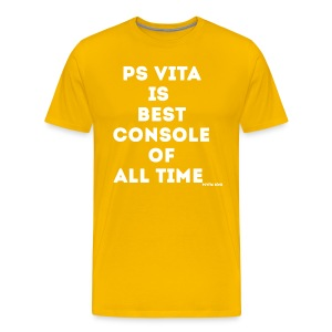 PS Vita is Best Console of All Time Men's T-Shirt - Men's Premium T-Shirt