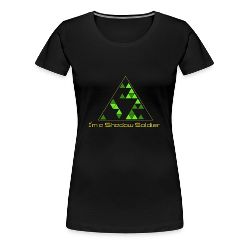 Shadow Soldier T-shirt (Womens) - Women's Premium T-Shirt
