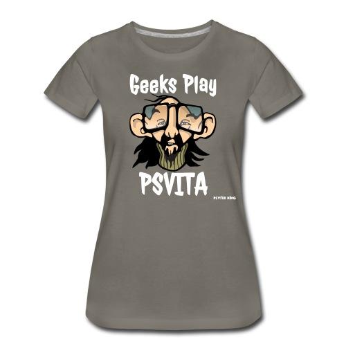Geeks Play PSVITA Women's T-Shirt - Women's Premium T-Shirt