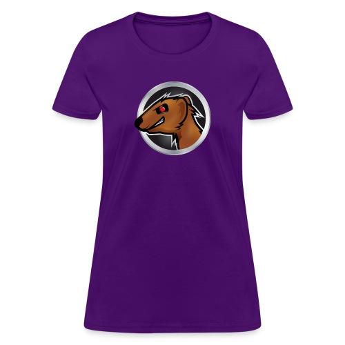 Mongoose Logo Women Purple - Women's T-Shirt