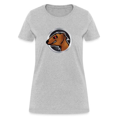 Mongoose Logo Women Light Gray - Women's T-Shirt