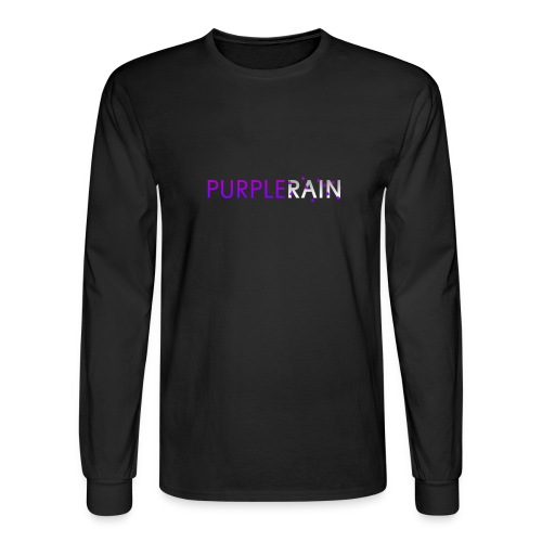 Purple Rain Long Sleeve - Men's Long Sleeve T-Shirt