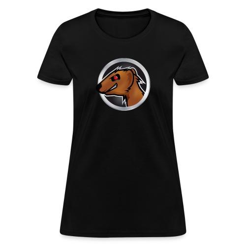 Mongoose Logo Women Black - Women's T-Shirt