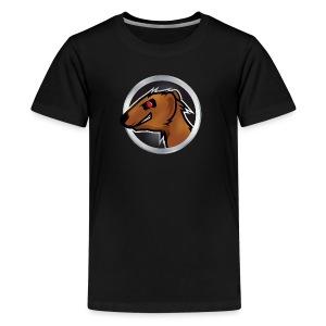 Mongoose Logo Kids Purple - Kids' Premium T-Shirt