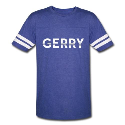 Men's GERRY Blue T-Shirt - Vintage Sport T-Shirt