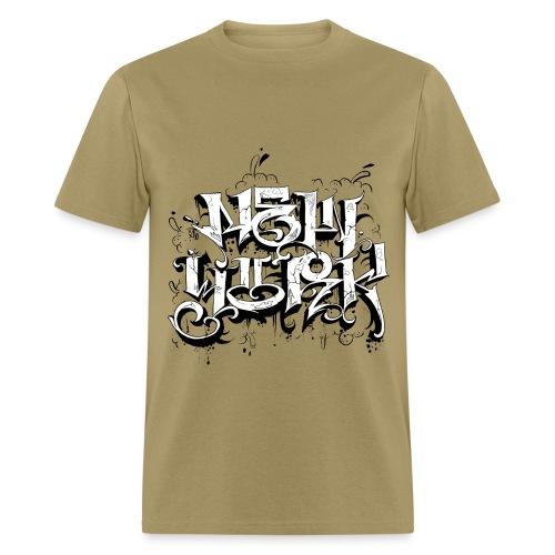 Rez - Design for New York Graffiti Logo - Men's T-Shirt